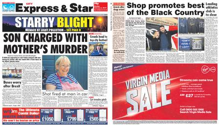 Express and Star City Edition – February 04, 2019