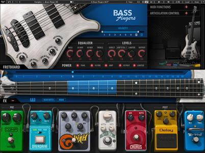 Waves Bass Fingers Library SD & HD v1.0 WiN