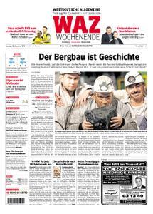 WAZ Westdeutsche Allgemeine Zeitung Oberhausen-Sterkrade - 22. Dezember 2018
