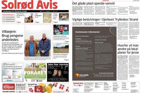 Solrød Avis – 21. marts 2019