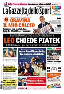 La Gazzetta dello Sport Roma – 15 gennaio 2019