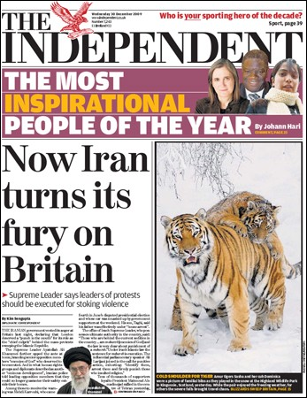 The Independent - 30 December 2009