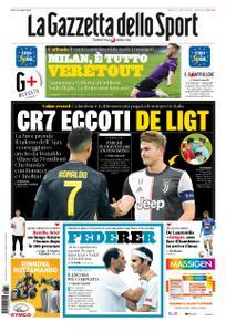 La Gazzetta dello Sport – 13 luglio 2019