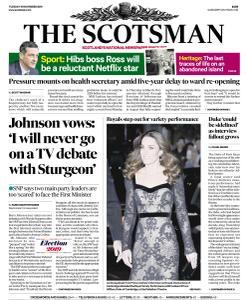 The Scotsman - 19 November 2019