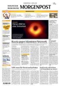 Solinger Morgenpost – 11. April 2019