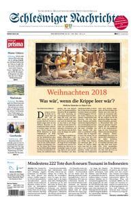 Schleswiger Nachrichten - 24. Dezember 2018