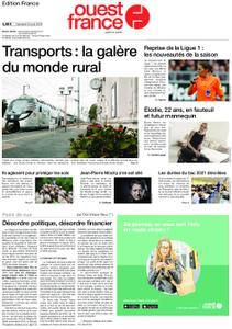 Ouest-France Édition France – 09 août 2019
