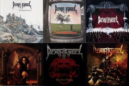 Death Angel: Collection (1987 - 2010) [6CD, Japanese Edition]