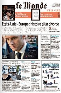 Le Monde du Samedi - 10 Novembre 2018