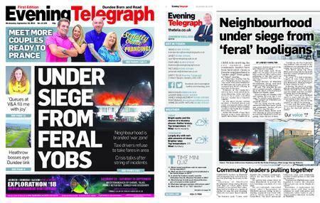 Evening Telegraph First Edition – September 26, 2018