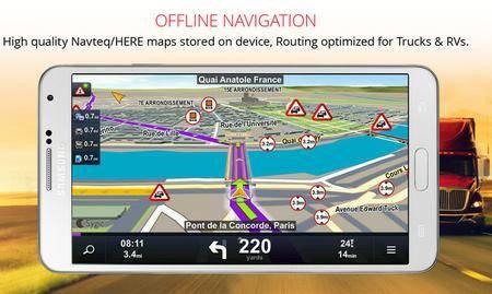 Sygic Truck Navigation v13.8.6