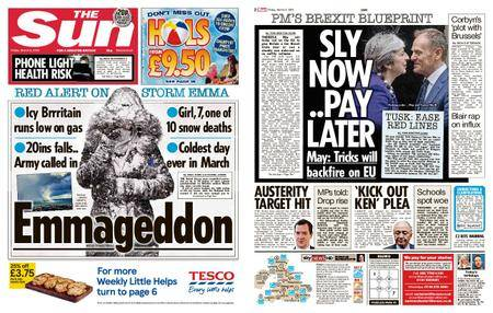 The Sun UK – 02 March 2018