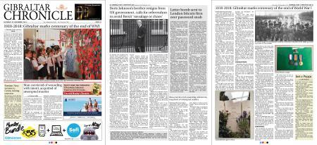 Gibraltar Chronicle – 10 November 2018