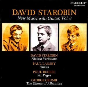David Starobin - New Music for Guitar, Vol. 8 (2013) {Bridge 9404}