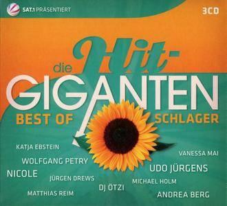 VA - Die Hit Giganten: Best Of Schlager (2016) {3CD Box Set}