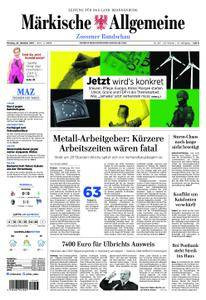 Märkische Allgemeine Zossener Rundschau - 23. Oktober 2017