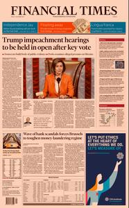 Financial Times Europe – 01 November 2019