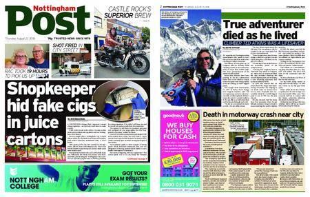 Nottingham Post – August 23, 2018