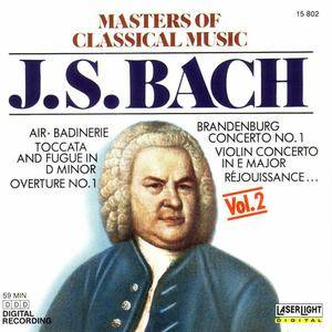 VA   Masters Of Classical Music Vol. 2: Johann Sebastian Bach (1988)