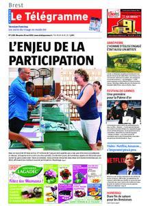 Le Télégramme Brest Abers Iroise – 26 mai 2019