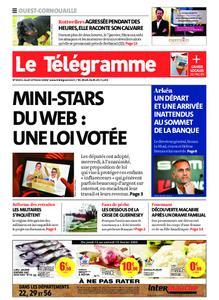 Le Télégramme Ouest Cornouaille – 13 février 2020