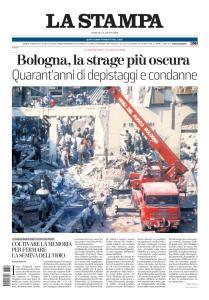 La Stampa Milano - 2 Agosto 2020