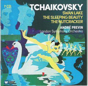 Tchaikovsky -Swan Lake -The Sleeping Beauty -The Nutcracker -  André Previn  ( 7 CD Boxset 2016 )