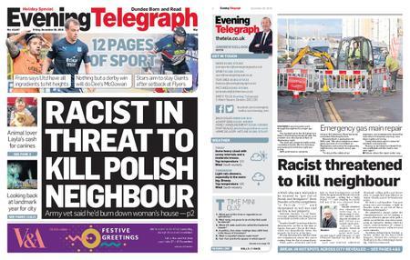 Evening Telegraph First Edition – December 28, 2018