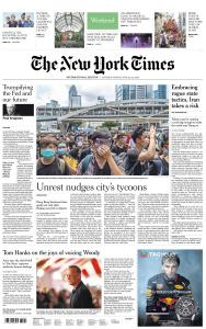 International New York Times - 22-23 June 2019