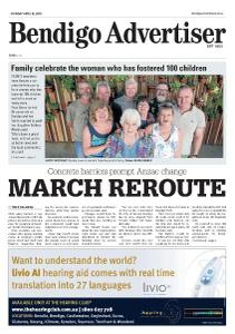 Bendigo Advertiser - April 15, 2019