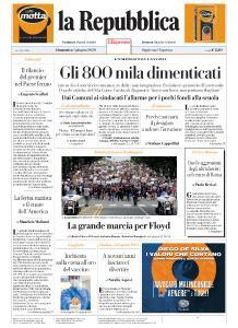 la Repubblica - 7 Giugno 2020