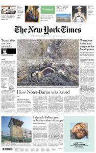International New York Times - 20-21 July 2019