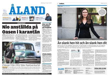 Ålandstidningen – 27 april 2020