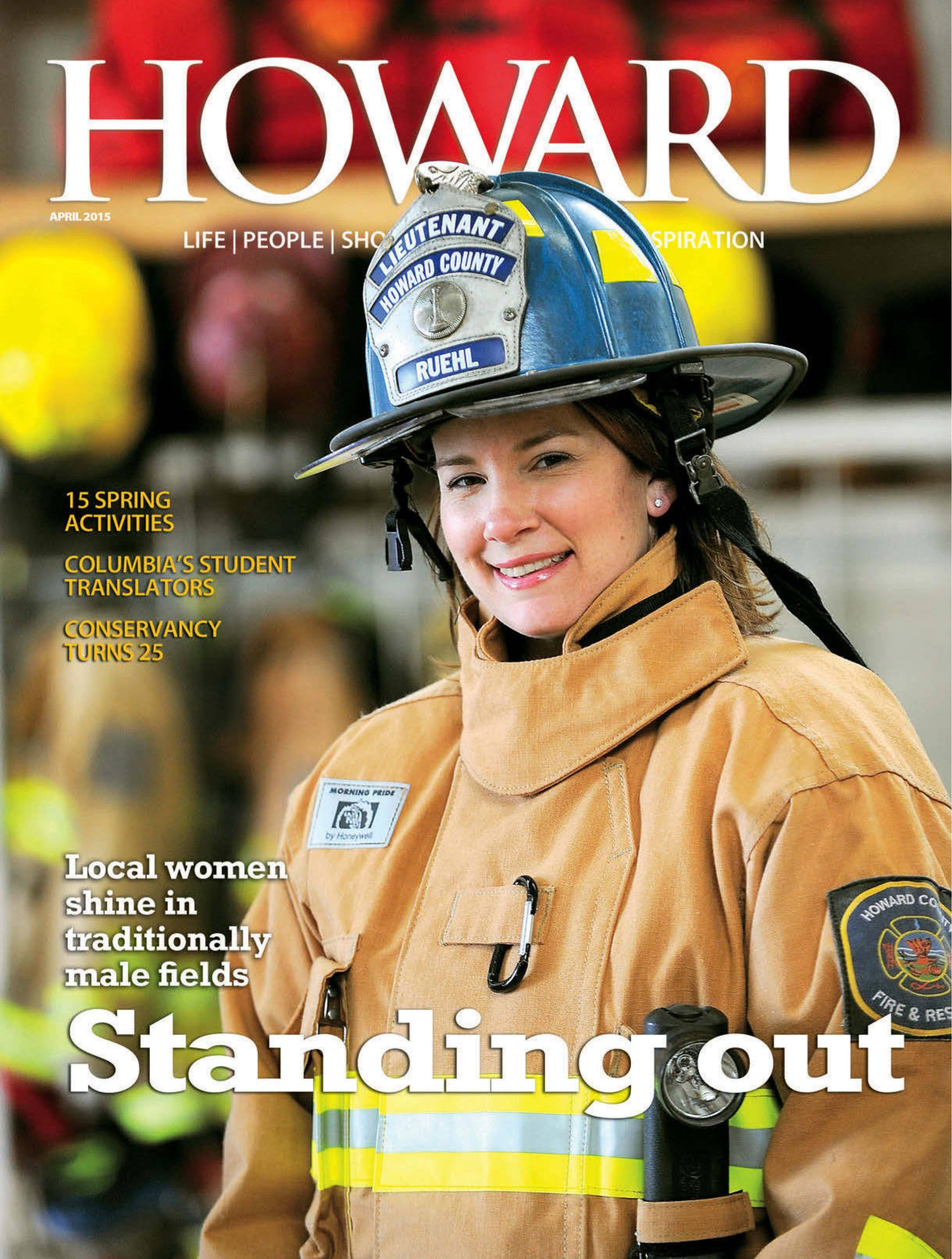 Howard Magazine - April 2015