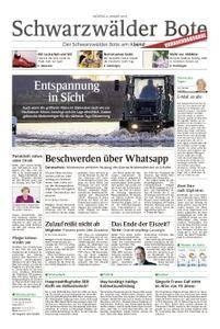 Schwarzwälder Bote Hechingen - 08. Januar 2018