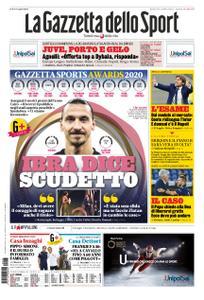La Gazzetta dello Sport Roma – 15 dicembre 2020