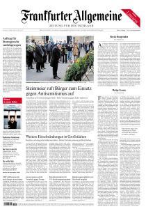 Frankfurter Allgemeine Zeitung - 10 Oktober 2020