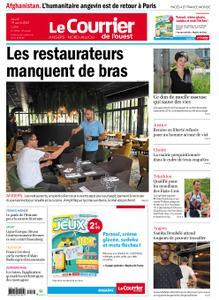 Le Courrier de l'Ouest Angers – 19 août 2021