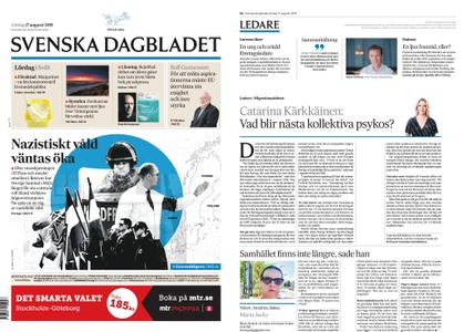 Svenska Dagbladet – 17 augusti 2019