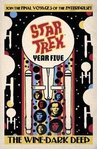 IDW Publishing-Star Trek Year Five Book Two The Wine Dark Deep 2020 Hybrid Comic eBook
