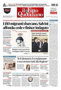 Il Fatto Quotidiano - 26 agosto 2018