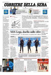 Corriere della Sera – 04 ottobre 2018