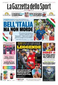 La Gazzetta dello Sport Roma – 12 ottobre 2020
