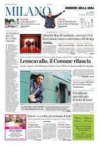Corriere della Sera Milano - 21 Aprile 2018