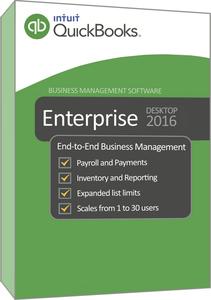 Intuit QuickBooks Enterprise Solutions 2016 16.0 R8