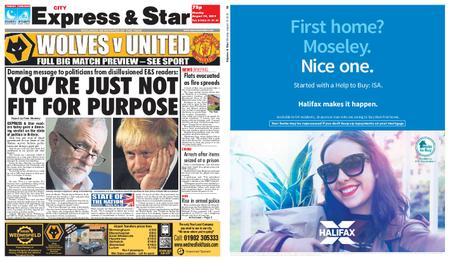 Express and Star City Edition – August 19, 2019