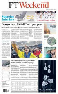 Financial Times Asia - April 20, 2019