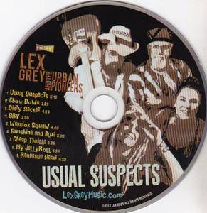 Lex Grey and the Urban Pioneers - Usual Suspects (2018)