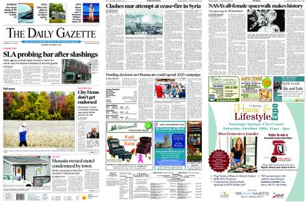 The Daily Gazette – October 19, 2019