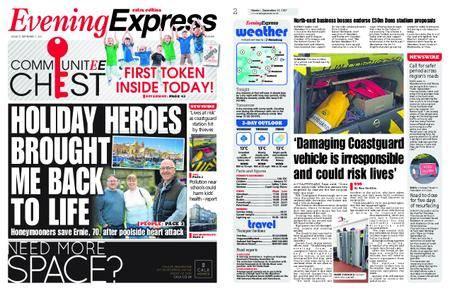 Evening Express – September 11, 2017
